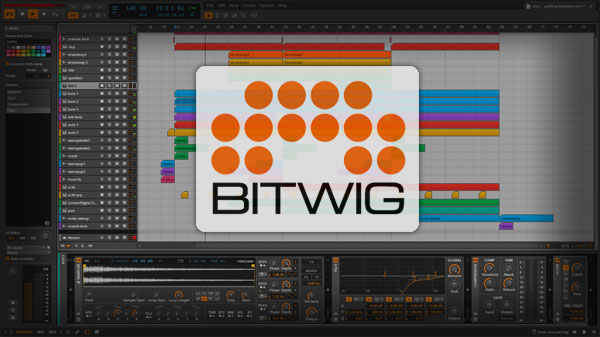 Free Bitwig Studio Template / Project File