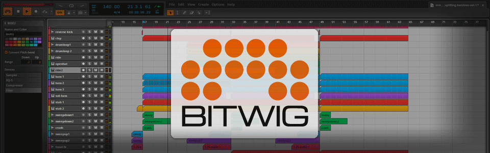 Free Bitwig Studio Template / Project File