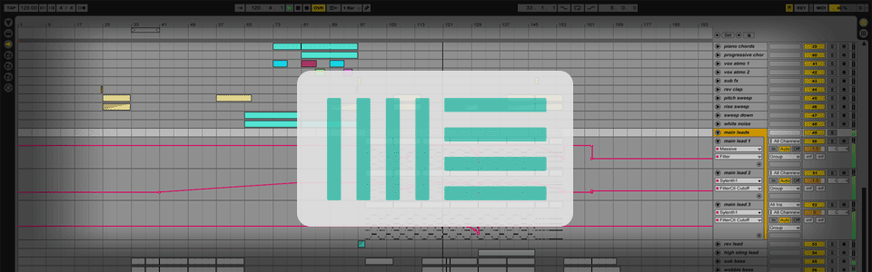Ableton Big Room Template – Free File of September 2015
